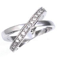 Dual Eternity Band - Jewelry Xoxo