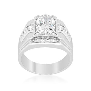 Mustang Cubic Zirconia Ring - Jewelry Xoxo