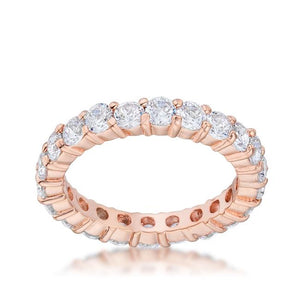Jessica Band in Rose Goldtone Finish - Jewelry Xoxo