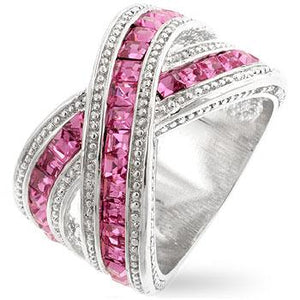 Twisting Pink Band - Jewelry Xoxo