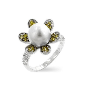 Ivy Pearl Ring - Jewelry Xoxo