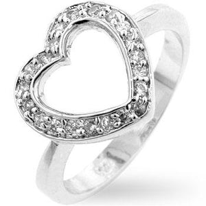 Sterling Heart Ring - Jewelry Xoxo