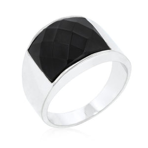 Onyx Cocktail Ring - Jewelry Xoxo