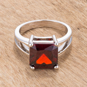 Garnet Gypsy Ring - Jewelry Xoxo