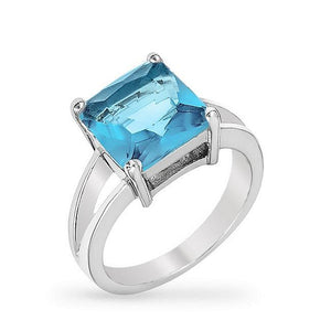 Aqua Gypsy Ring - Jewelry Xoxo