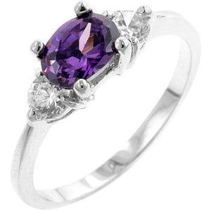 Oval Sonnet Cubic Zirconia Ring - Jewelry Xoxo