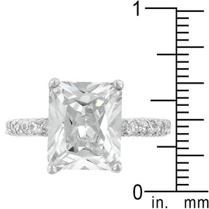 Radiant Cut Engagement Ring - Jewelry Xoxo