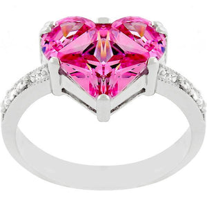 Sweetheart Engagement Ring - Jewelry Xoxo