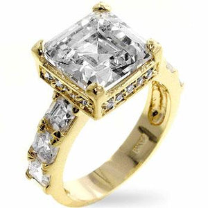 Music Box Engagement Ring - Jewelry Xoxo