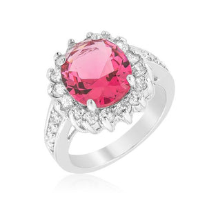 Red Cambridge Elegance Ring - Jewelry Xoxo