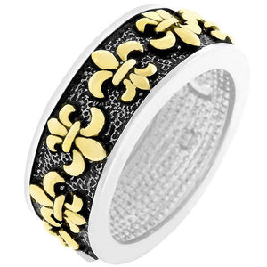 Antique Fleur De Lis Ring - Jewelry Xoxo