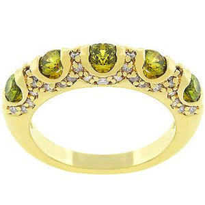 Olive Fusion Ring - Jewelry Xoxo