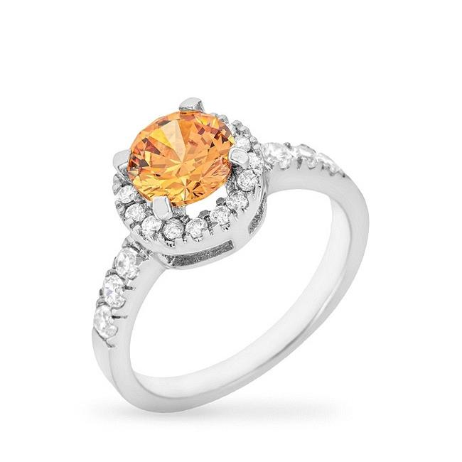 Champagne Crown Ring - Jewelry Xoxo