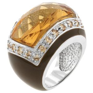 Persian Champagne Ring - Jewelry Xoxo