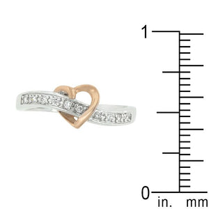 Rose Heart Band - Jewelry Xoxo