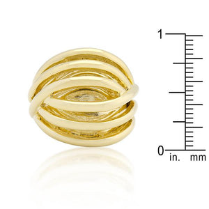 Golden Illusion Fashion Ring - Jewelry Xoxo