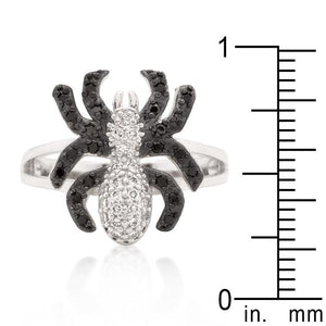 Cubic Zirconia Spider Fashion Ring - Jewelry Xoxo