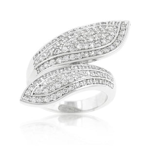Pave Wrap Ring - Jewelry Xoxo