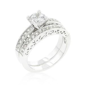 Filigree Engagement Set - Jewelry Xoxo