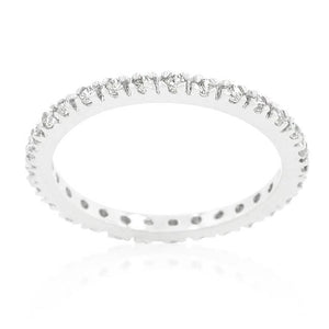 Simple Eternity Band - Jewelry Xoxo