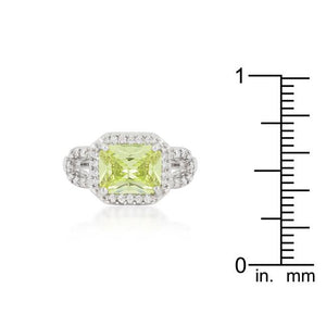 Radiant Cut Halo Ring - Jewelry Xoxo