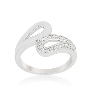 Fancy Split Shank Contemporary Ring - Jewelry Xoxo