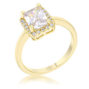 Mariane 2ct CZ 14k Gold Classic Ring - Jewelry Xoxo