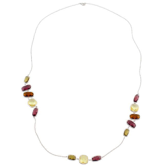 Assorted Color Fashionista Necklace - Jewelry Xoxo