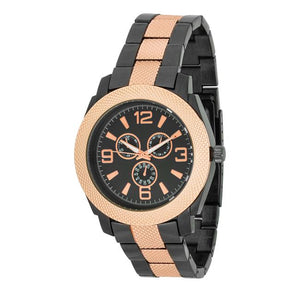 Mens Chronograph Metal Watch - Jewelry Xoxo