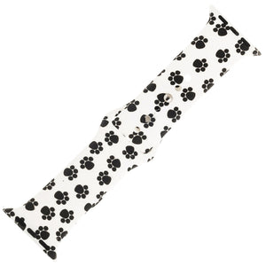 Paw Print Silicone Sports Watch Band 42mm - Jewelry Xoxo