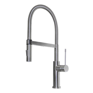 Veneto arched-neck luxury kitchen faucet Eurolux