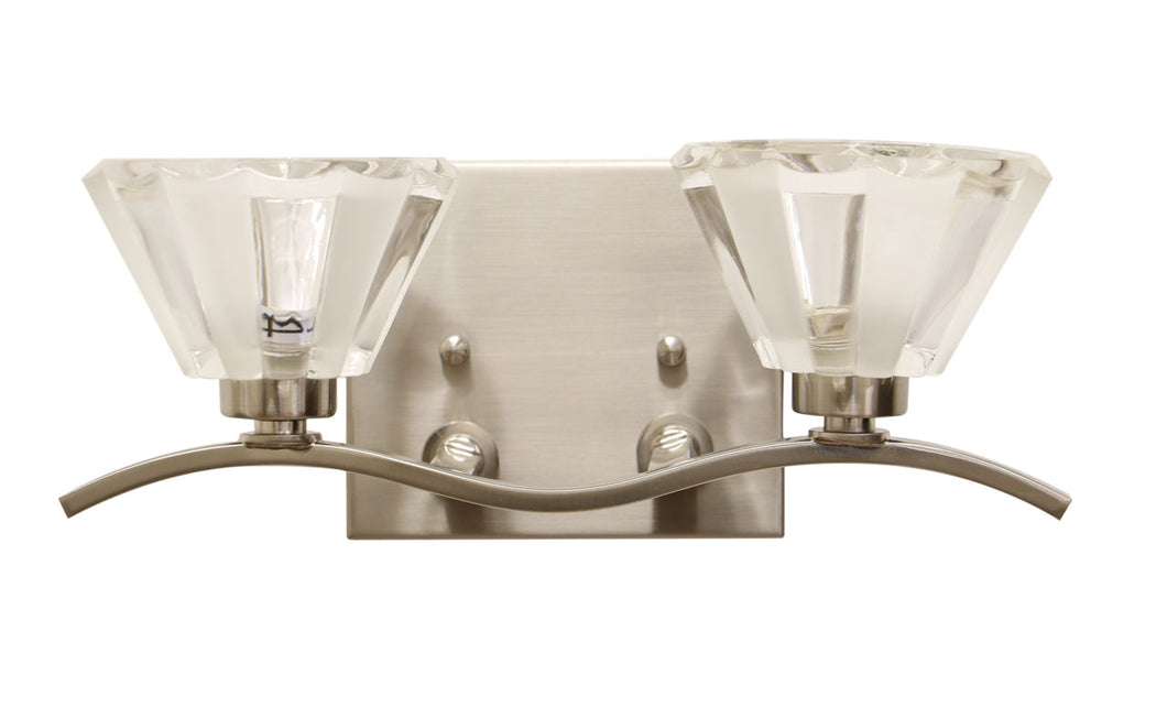 EL98892 Satin Nickel vanity light
