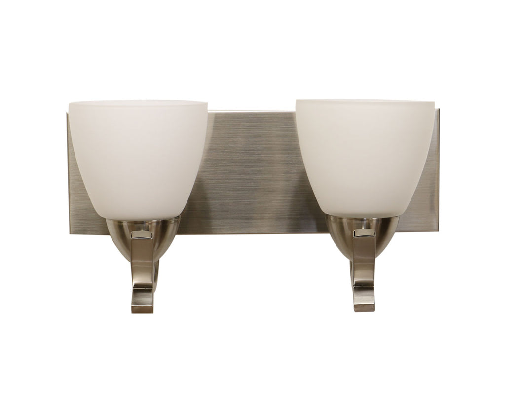 EL96992-2 Satin Nickel vanity light