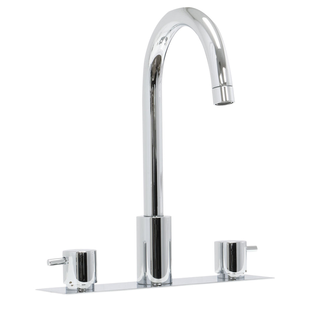 Paini COX three hole basin mixer