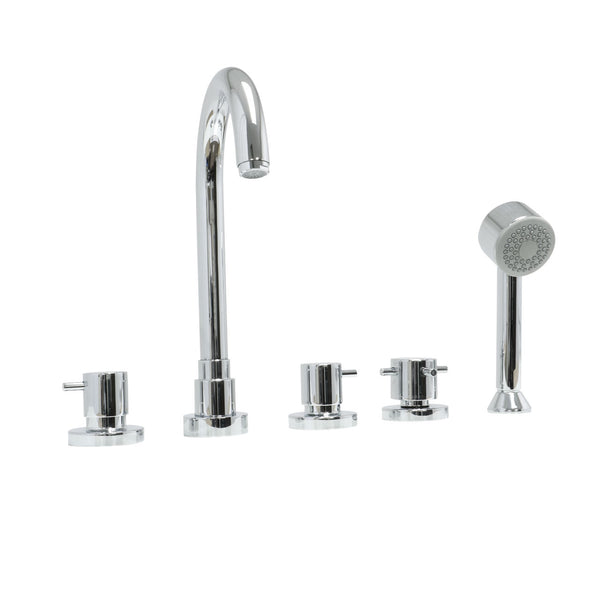 Paini COX five hole roman tub filler