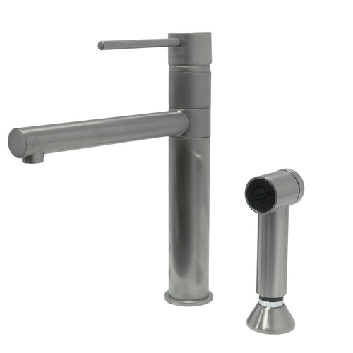 Paini COX two hole extractable faucet