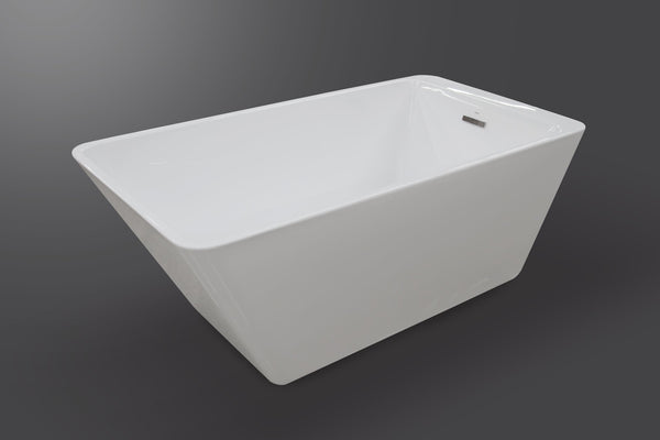 Sphene 67 rectangular modern freestanding tub Eurolux