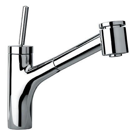 Paini COX single lever extractable faucet