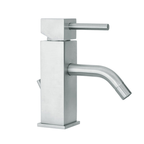 Paini AXIA brushed Nickel basin mixer