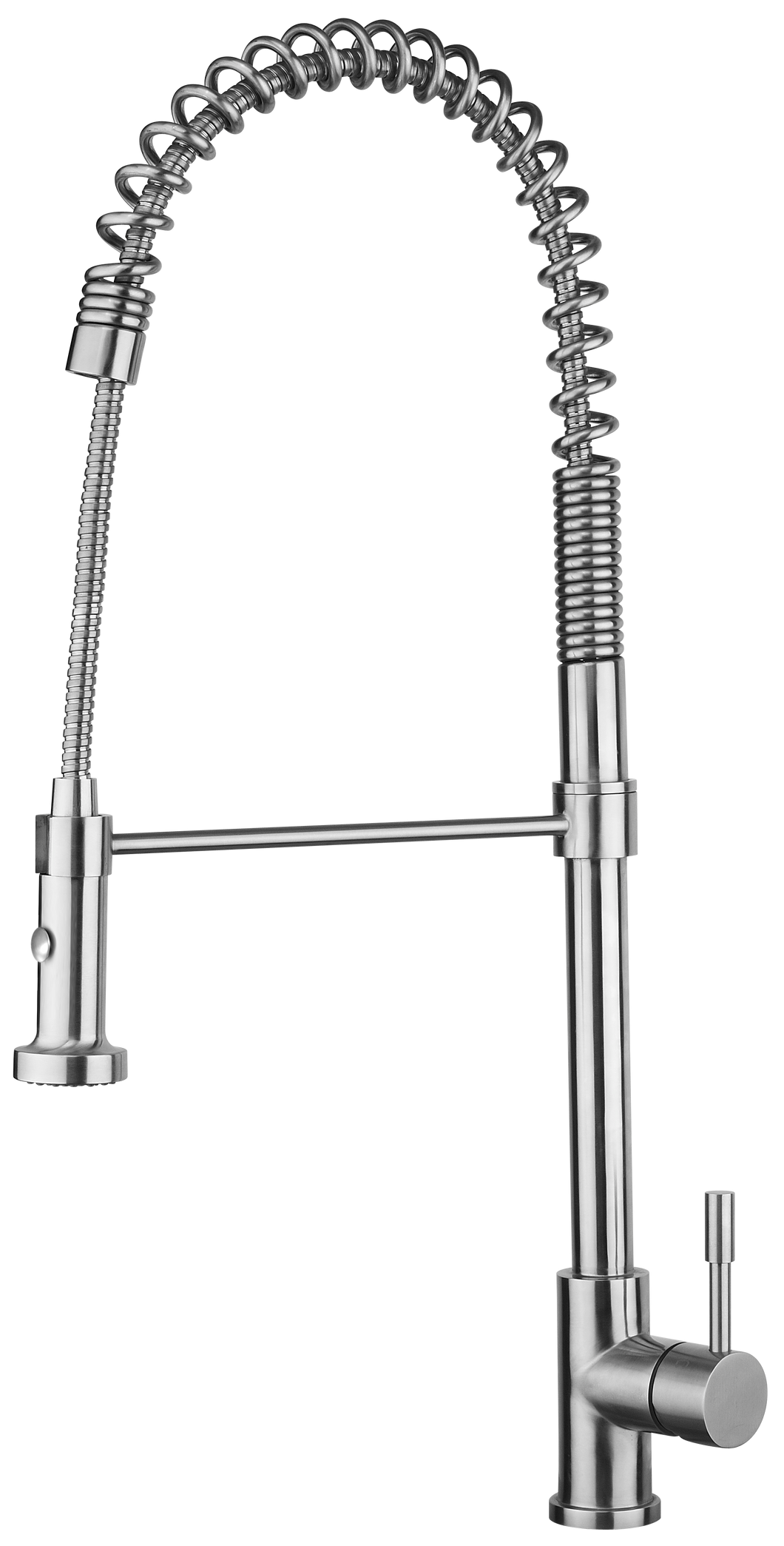Bari restaurant-style stainless steel kitchen sink faucet Eurolux