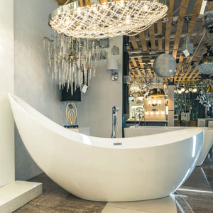 Modern Freestanding Tub - Pearl Collection