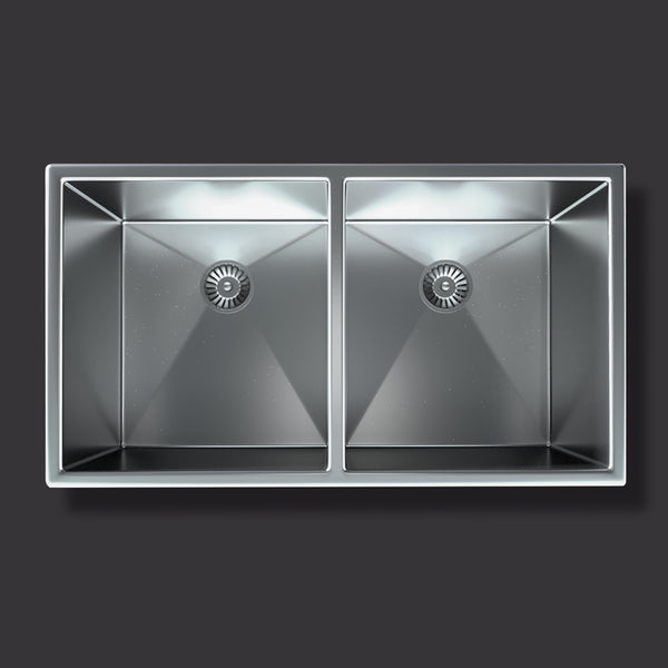Undermount Double-Basin Kitchen Sink (SRR23218A/10)