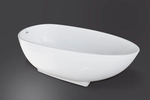 Garnet oval luxury freestanding tub Eurolux