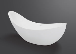 Pearl curved modern freestanding tub Eurolux
