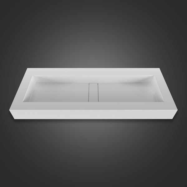Eurolux above-counter stone sink basin Lily