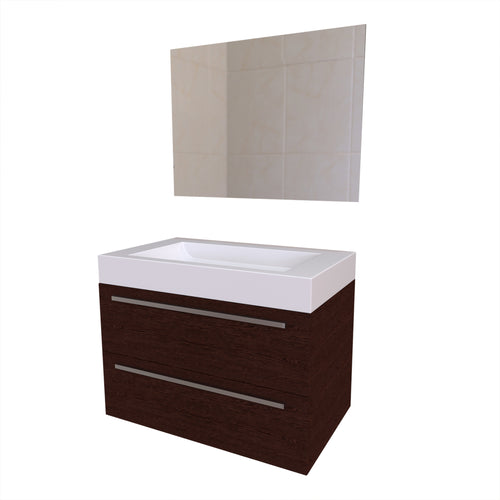 Reims Wall-Mounted Medicine Cabinet with Basin