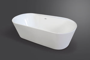 Topaz oval luxury freestanding tub Eurolux