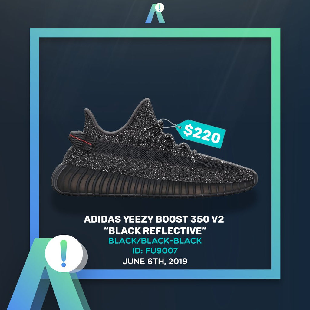 Yeezy Boost 350 v2 Black 3m Reflective $25 PAS SLOTS