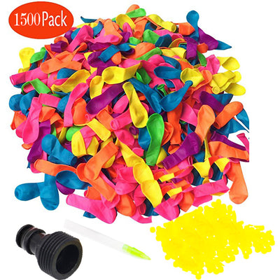 1500 Pack Water Balloons Refill Kits, Fast fill, self-seal - allyouting