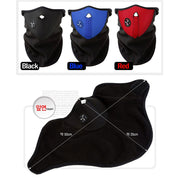 Unisex Dustproof & Windproof Warm Neck Half Face Mask - allyouting